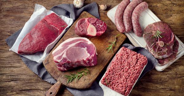 Plateau de viande rouge